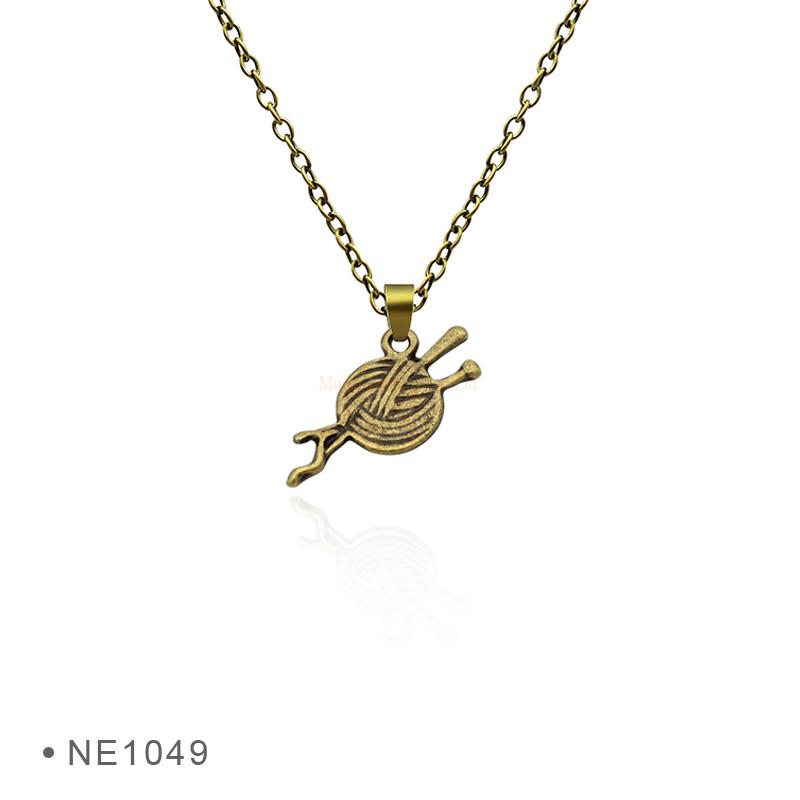Custom Jewelry Needle Thread Sewing Machine Ruler Pendant Neckalce for Women  Jewlery 28b8621ce7
