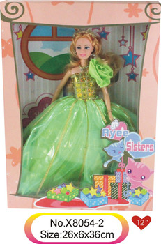 2016 toy doll barbie girls makeup games barbie princess for children