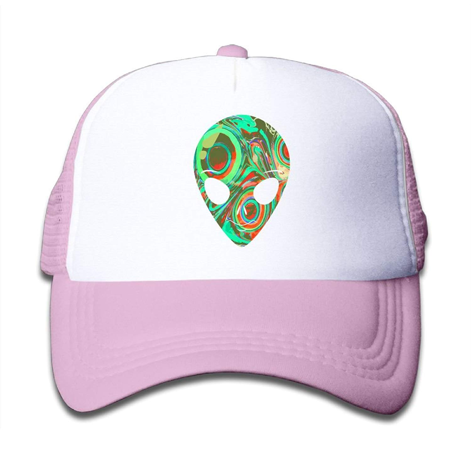 Sol Baby Unicorn Vibes Infant//Toddler Hot Pink Trucker Hat
