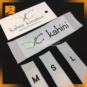 wholesale personal fabric clothing label