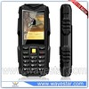 Low price 2.4 inch IP67 rugged cell phone support BT FM