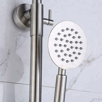 Top Supplier In-Wall Waterfall And Rainfall Bathroom Shower Set 3 Way Faucet