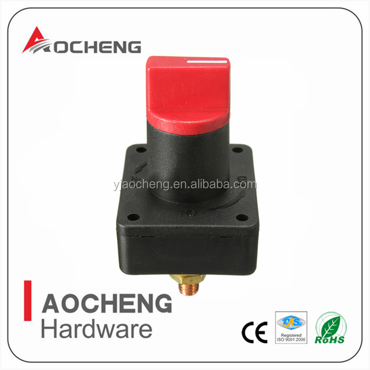 DC Mini Auto Rotary Battery Disconnect Switch/Battery Cut Off Kill Switch