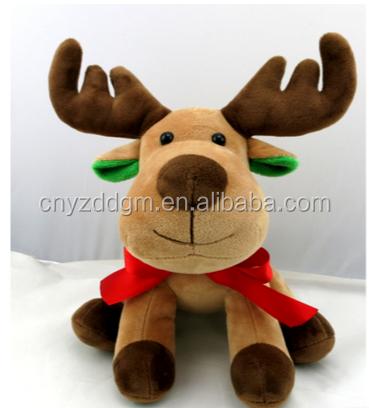 Weihnachtselch Stofftier Kuscheltier Teddybear Teddy Arktis & Antarktis Frohe Weihnachten Elch