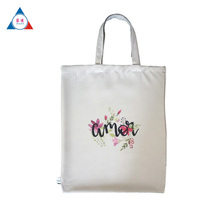 Best selling products plain white cotton canvas tote bag