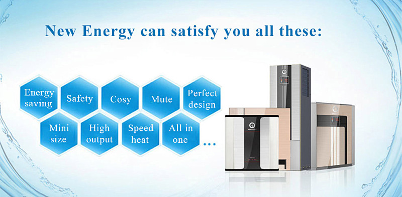 OEM chinese high cop best selling air source house all in one hot water heat pump
