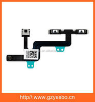 For iPhone 6 Power On Off Mute Volume Button Switch Microphone Flex Cable