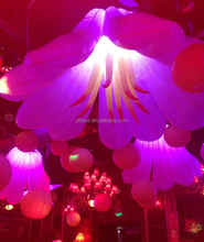 Valentine decoration inflatable lighting flower,flowers with lights