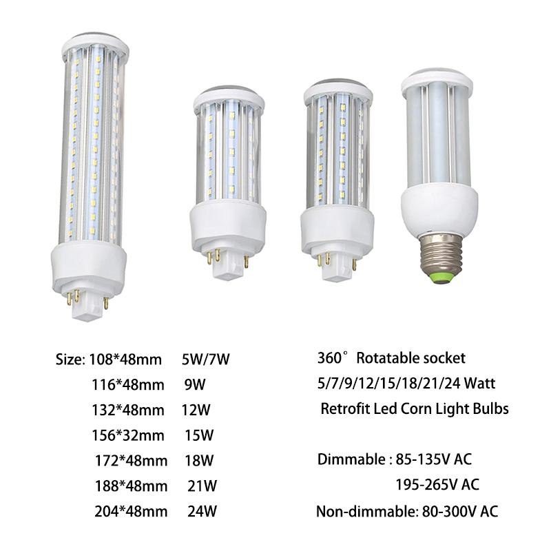 Fluorescente De Luz Buy 4 2 Nueva E26 W Led En Instalación O E27 5 Bombilla 3u Bombilla Lámpara Pin Reemplazar 108mm4 G24d Maíz Led Pin 3 De Gx24q xQdWorCBe