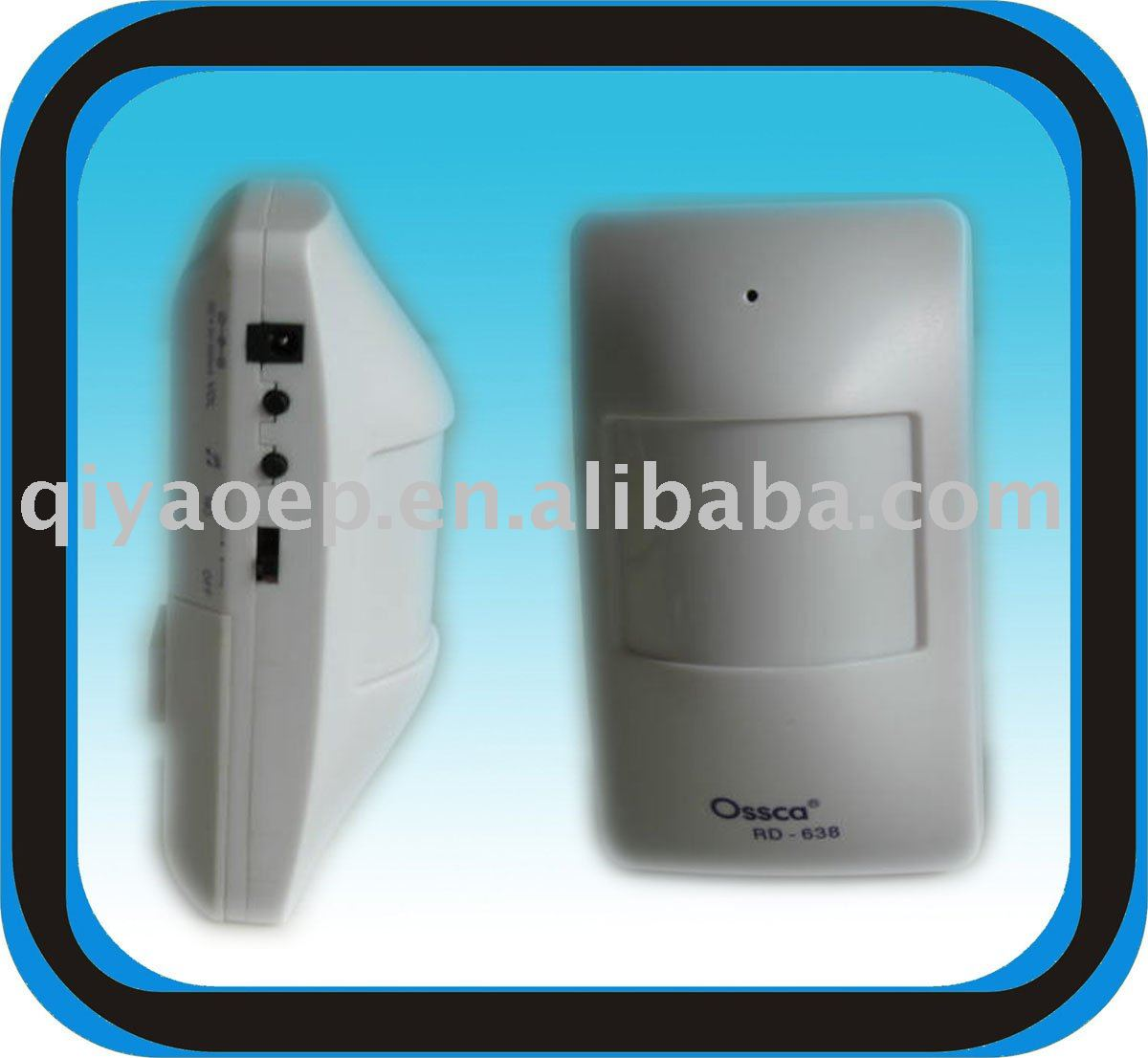 Sensor Doorbell Motion Door Chime Battery Operated Sound Friedland Chimes Wiring Diagram While People Pass Near Buy Doorbellwireless Doorbellsensor Bell Product On