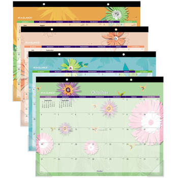 Custom Monthly Desk Planner Note Pad Calendar for Office Table