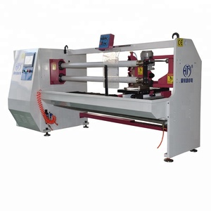HJY-QJ02 Masking tape cutting machine/ bopp slitter/ pvc making machine