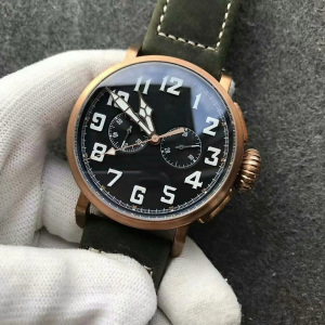 Oshi regal watch price top quality pilot bronze watch automatic