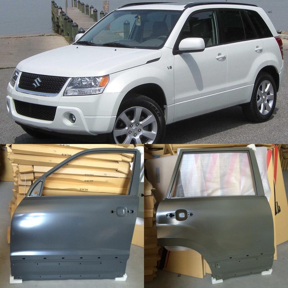 Grey Sheepskin Faux Fur Car Seat Covers 2003-10 2 x Fronts Kia Sorento