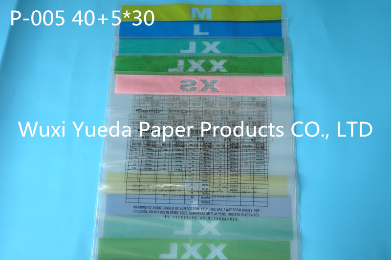 self adhensive opp plastic bag, transparent print logo packing plastic opp bags with header, cheap plastic bags printing a05
