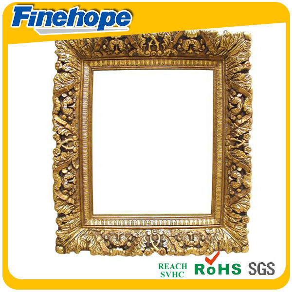 2014 Good quality sweet pu funia oil antique classical painting gold frames