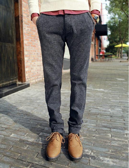 Mens Casual Wool Pants Vpi Pants
