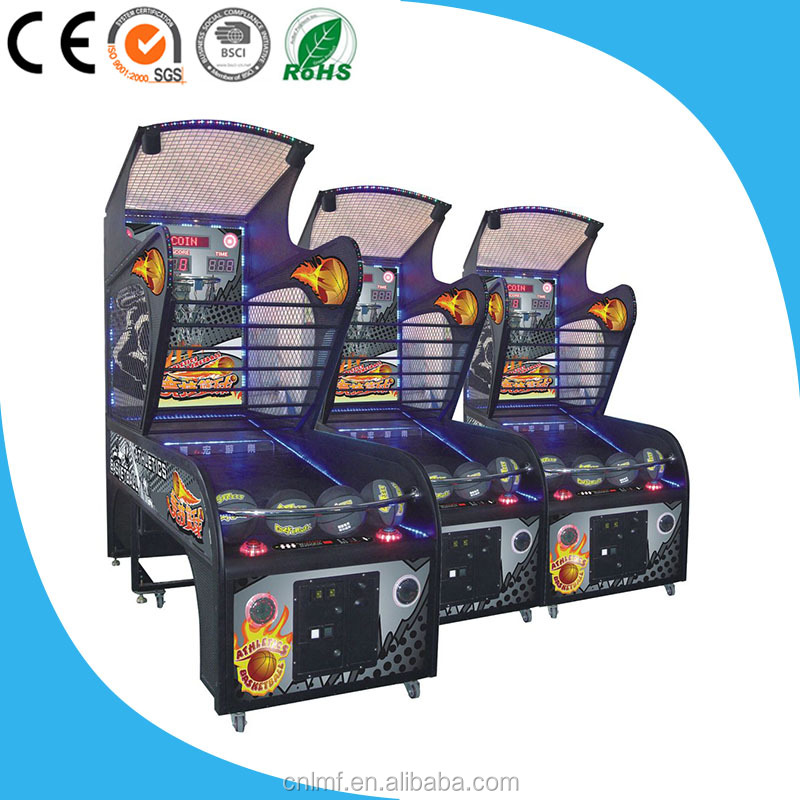 Basketball Machine Arcade Coin Operated Basketball Game Machine Street Basketball shooting