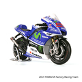 YMH YZR M1 2014 99 MOTO GP Motorcycle 1 10 scale Alloy metal diecast models motor