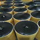 Black butyl rubber and barrel package