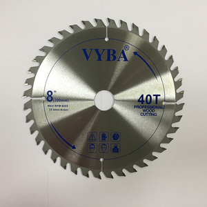 "8""x40T Wood Working Power Tools Laminate MDF Cutting TCT Saw Blade"