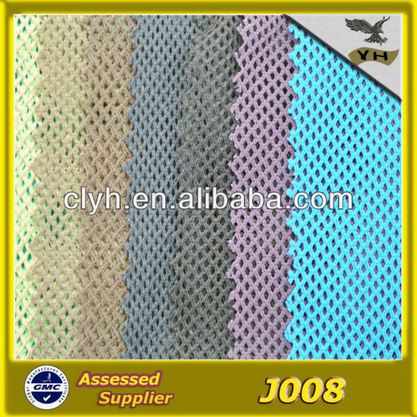 factory polyester mesh fabric wholesale for bag ,lining