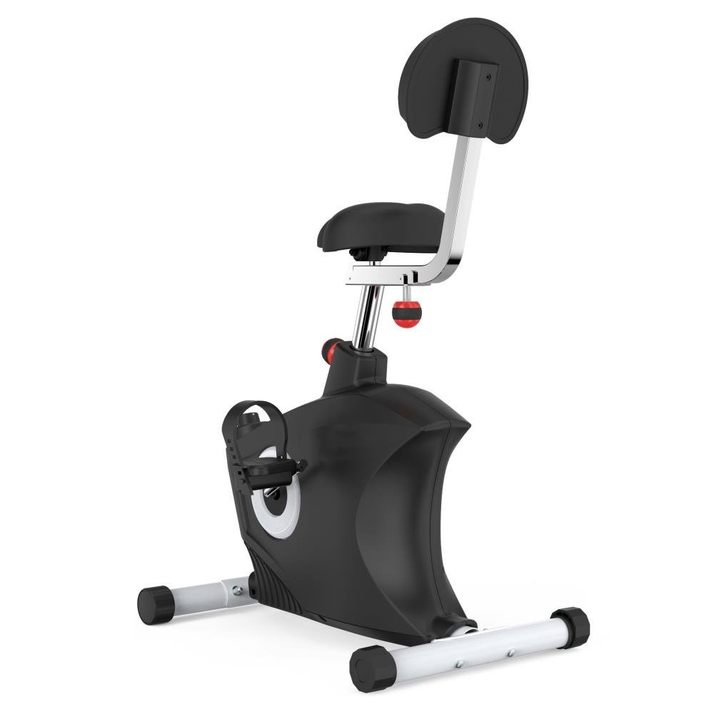 33a1ff8ac9a SereneLife Exercise Bike - Stationary Bicycle Pedal Cycling Trainer Fitness  Machine Equipment for Under Desk Workout