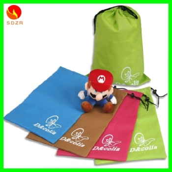 nonwoven draw string bag