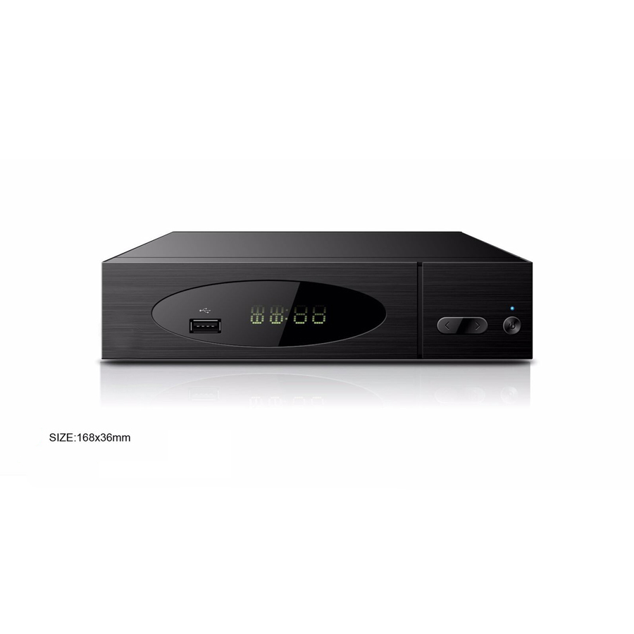 Brazil ISDB-T Full-Seg digital TV box, with two digital TV tuners A/V output