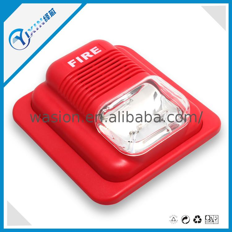Factory Directly fire alarm siren with push button