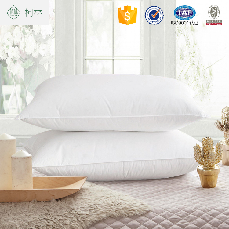 Best hot cake wholesale hotel hospital and home use comfortable down insert pillow