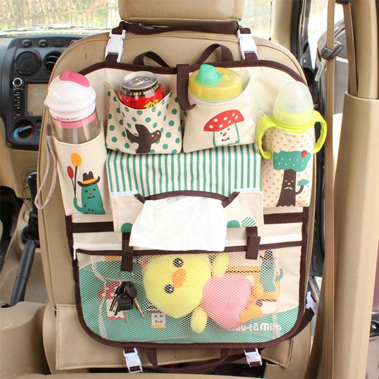 Asiento trasero del coche organizador de juguete para for Asientos infantiles coche