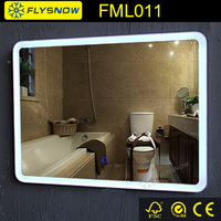 luxury wall bath led mirror manufacturer