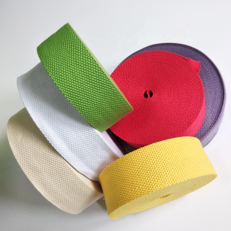 Cotton Webbing Herringbone Cotton Tape for Bag Handle