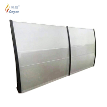 100% virgin Bayer material sun Awning wholesale metal door awning