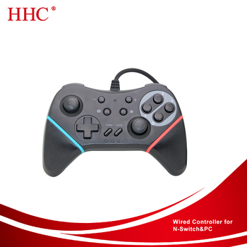 Wired pro controller for Nintendo Switch & PC, View Wired controller for  Nintendo SWITCH& PC, HHC Product Details from Shenzhen Haihongchang