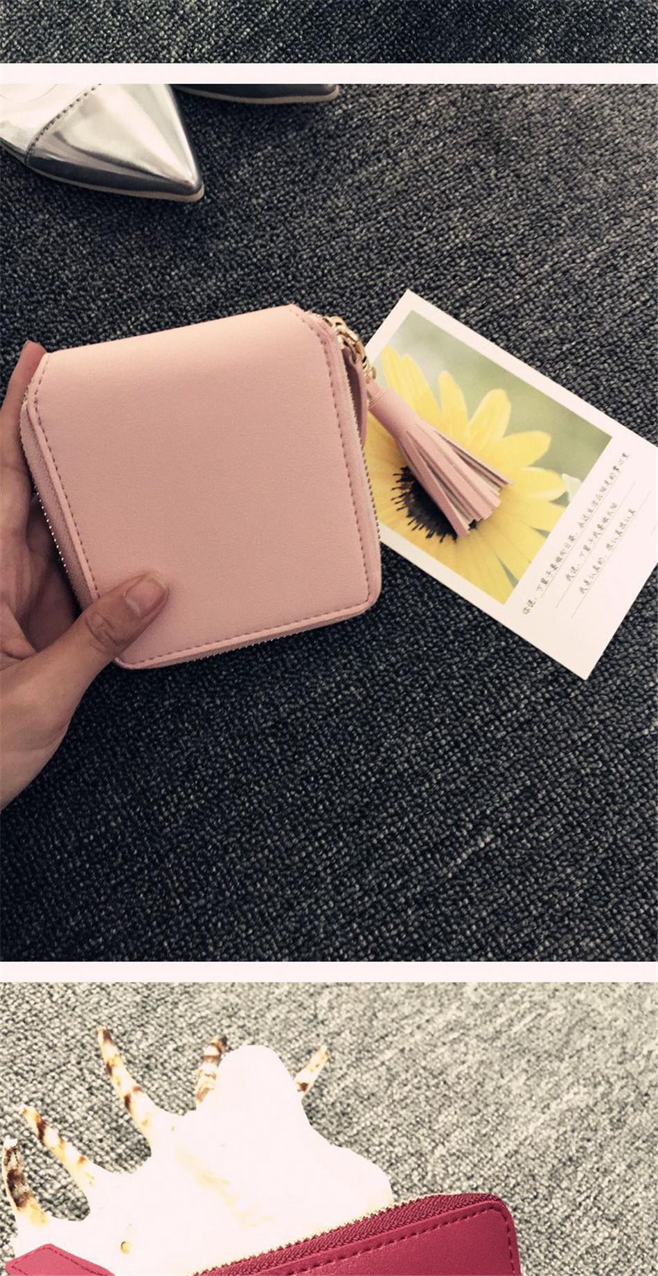 a40c77ec26f3 Detail Feedback Questions about Women Coin Purses Tassel Coin Bag ...