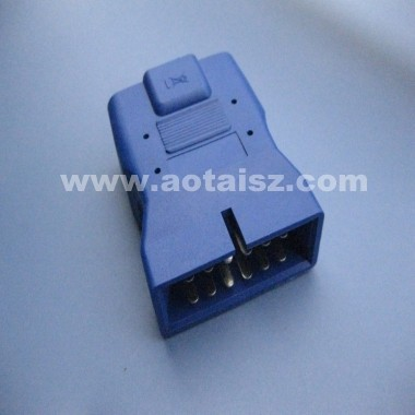 High quality 12 pin male to female OBD ii adapter for GM