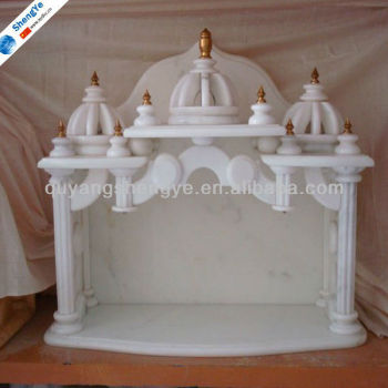 Indian pooja mandir temple buy indian pooja mandir temple indian temples for home marble for Marble temple designs for home