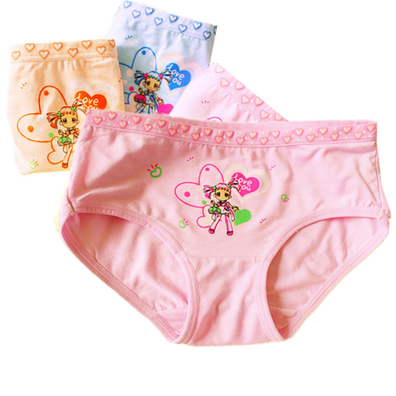 Baby Girls Panties Underwear Colorfull Kids Briefs Baby Kids Panties for Girls Young Girl Briefs