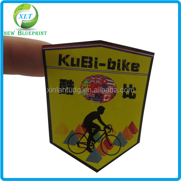 personalized bike decal sticker label label maker