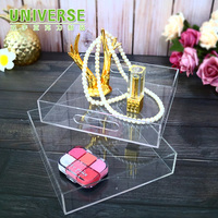 UNIVERSE Exquisite cake fruit acrylic tray transparent acrylic tray