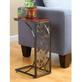 Antique Coffee Small Modern Wood Metal Bed Sofa Side Table Tables Product On Alibaba