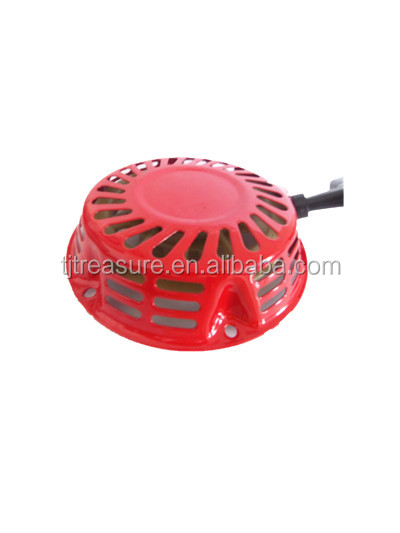 electric portable gasoline generator spare parts price of recoil starter assembly handle ,rope wholesale gx160 gx200 gx390 gx270