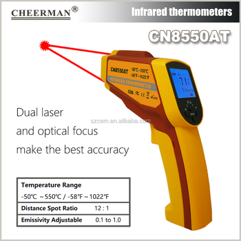 industrial Usage and Infrared Thermometer Theory digital Thermometer  CN8550AT(-50-550degree), View digital thermometer, OEM/neutral/cheerman  Product