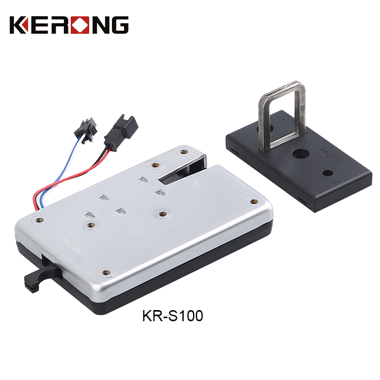 KERONG Online Shopping Force Alarm Electronic Lock For Flower Vending Machine