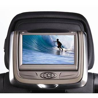 BMW Dual Rear Seat Entertainment System for Standard or Sport Seats-Tobacco - X3 SAV 2007-2010