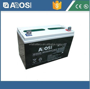 Arosi high quality best price 12v 100ah solar battery ?solar gel battery 230 ah
