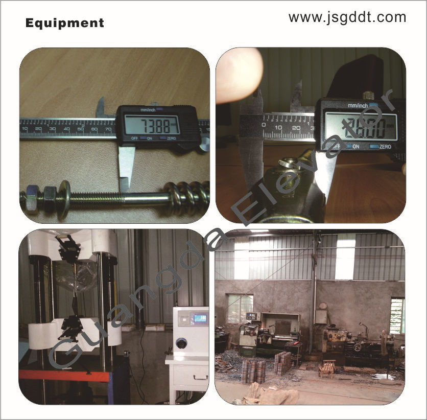 elevator parts rope attachment