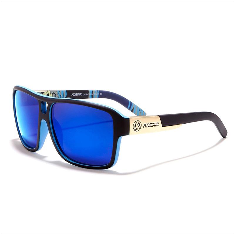 KDEAM Hot Selling High Quality Rectangle Frame Fashion Unisex Men Women Polarized Sunglasses 2019 Sun Glasses lentes de sol
